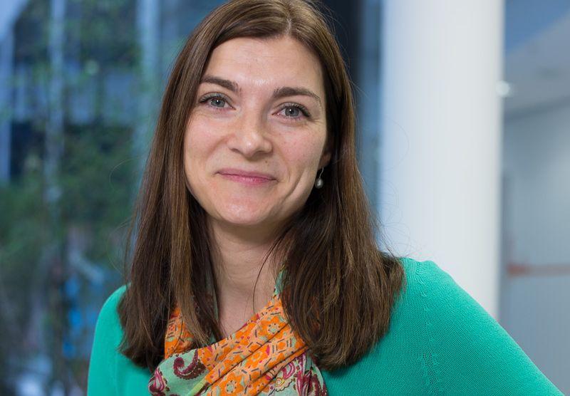 Petra Schmitz arbeitet bei der ING-DiBa